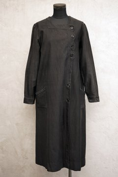 cir.1930's black work coat