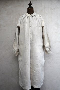 early 20th c. linen painter smock