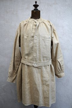 1950's French military linen smock