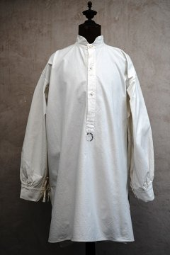 early 20th c. white shirt smock