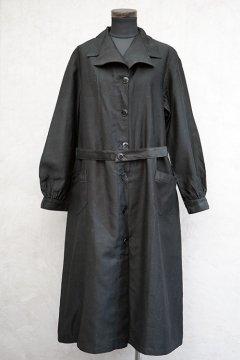 1930's black cotton work coat dead stock