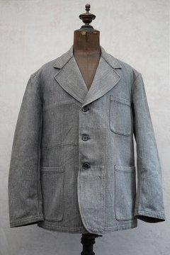 1930's-1940's salt&pepper cotton jacket