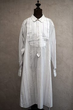 early 20th c.light purple striped cotton shirt