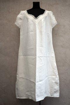 early 20th c. linen S/SL dress