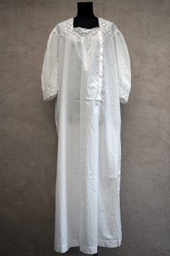 early 20th c white S/SL dress