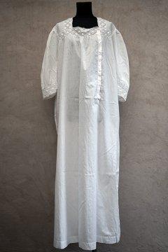 early 20th c white S/SL dress