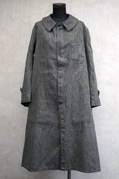 1930's-1940's salt&pepper cotton atelier coat