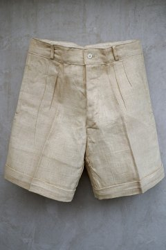 cir.1930's linen shorts dead stock