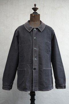 mid 20th c. black moleskin jacket