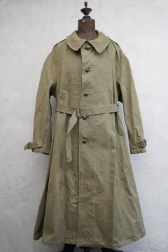 cir.1940's-1950's French military M38 motorcycle coat dead stock