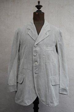 1910's striped cotton sack coat