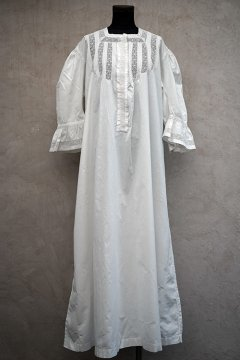 early 20th c. white long dress