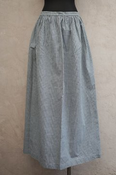 ~early 20th c. indhigo checked apron