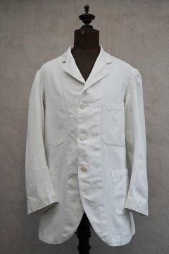 ~1930's white cotton sack coat