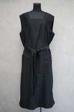 1930's-1940's black work dress N/SL