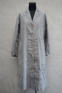 cir.1940's gray chambray work coat