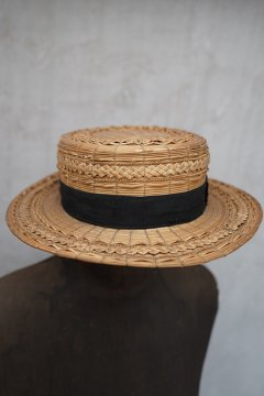 19th c. straw hat