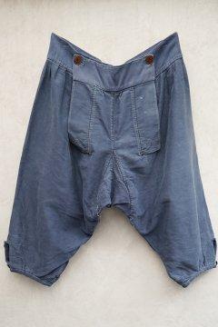 cir.1930's Dutch blue moleskin breeches