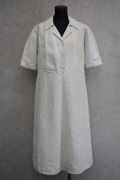 1930's S/SL linen dress