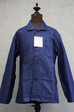 1960's blue moleskin work jacket dead stock