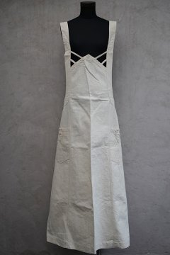 early 20th c. butcher apron dead stock