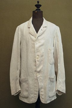 cir. 1920-1930's linen 3 button jacket