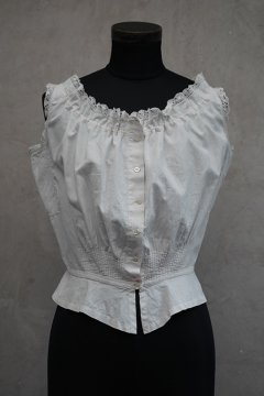 early 20th c. patched blouse N/SL