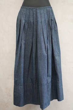 ~early 20th c. indigo striped apron