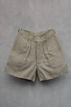 1930's hemp linen shorts
