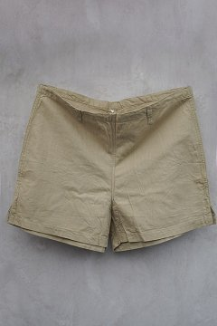 French vintage military army shorts