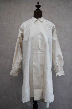 cir. 1920's-1930's ecru cotton shirt