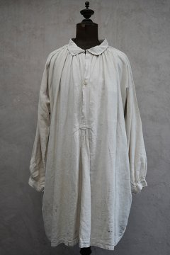 early 20th c. linen smock
