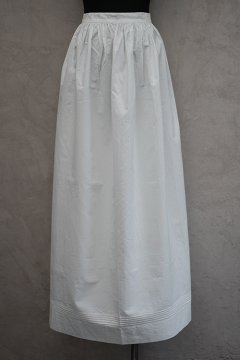~early 20th c. white long apron