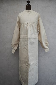 cir.mid 20th c. French military linen medical gawn dead stock