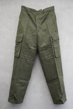 1960's French military M47 trousers 21 dead stock