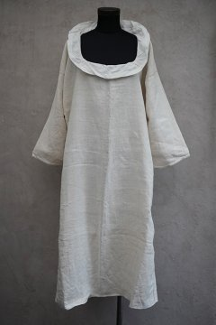 early 20th c. linen × hemp dress / smock