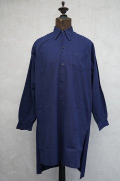 1930's blue shirt with pocket dead stock