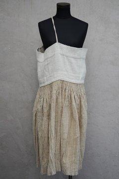 early 20th c. linen hemp dress