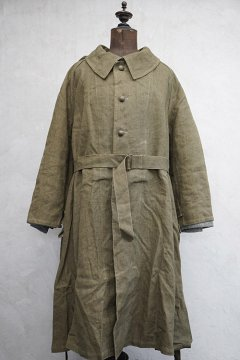 1940's-1950's French military M35 motorcycle coat dead stock