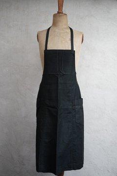 1930's-1940's black apron
