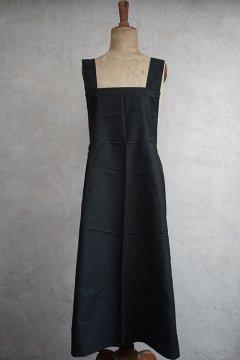 cir. 1930's black apron
