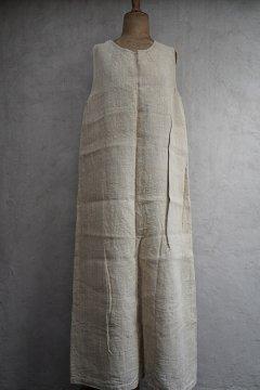 ~early 20th c. linen x hemp work dress / apron
