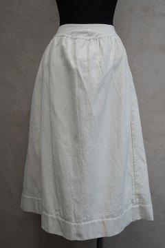 ~early 20th c. white skirt