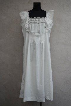 early 20th c. white dress N/SL