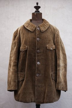 1930's brown corduroy hunting jacket