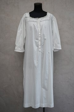 early 20th c. white dress H/SL