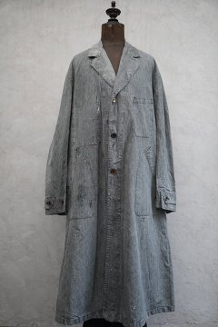 1940's salt&pepper atelier coat