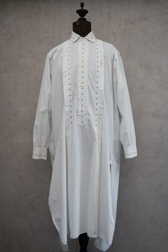 early 20th c. cotton long shirt