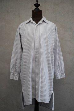 ~1940's striped cotton shirt