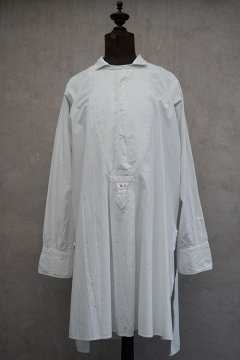 early 20th c. white cotton dress shirt